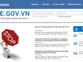 hướng dẫn đăng ký website với bộ công thương