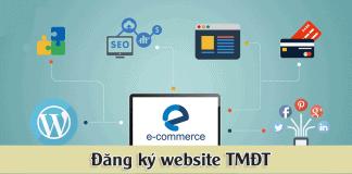 quy trình đăng ký website thương mại điện tử